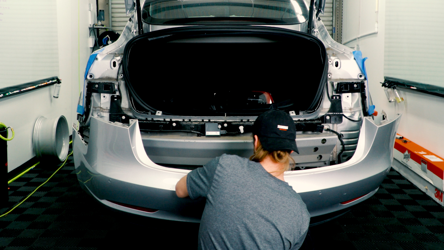 Guide: How to Remove your Tesla Model 3 Rear Bumper