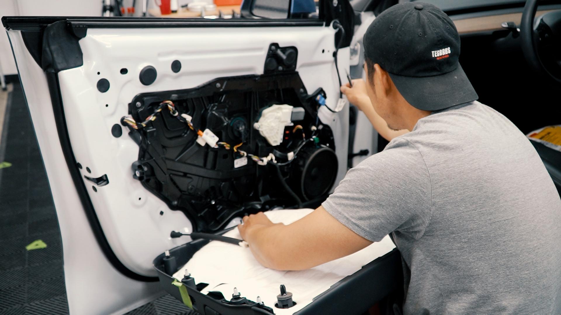 Fix Rattles in Your Tesla Model Y and Model 3 Doors